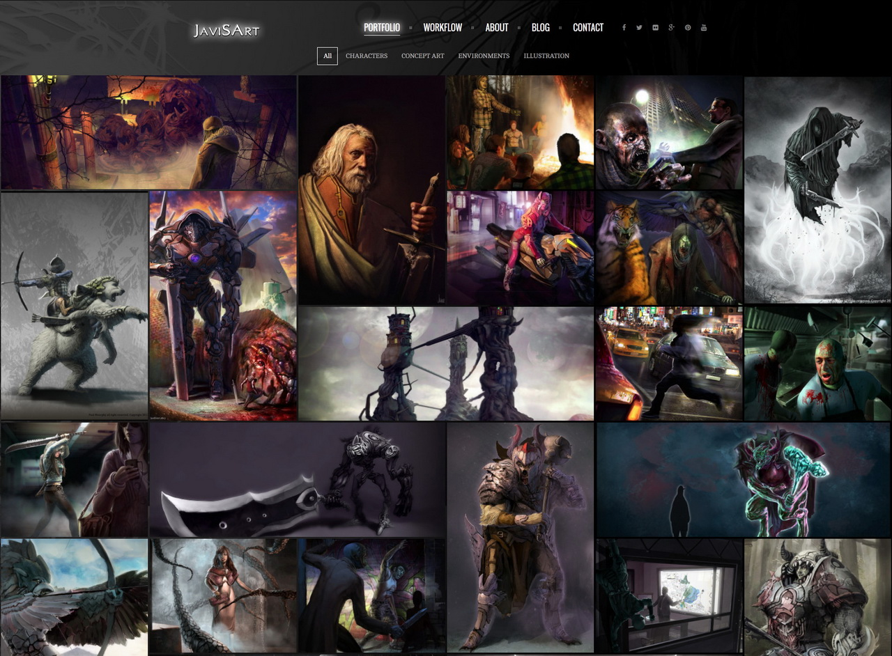 JavisArt - Concept Artist and Illustrator - Freelancer