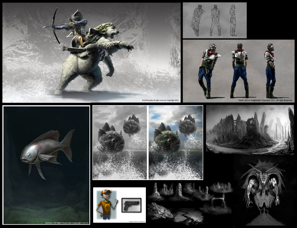 Concept Artist / Illustrator - Freelancer (Available)